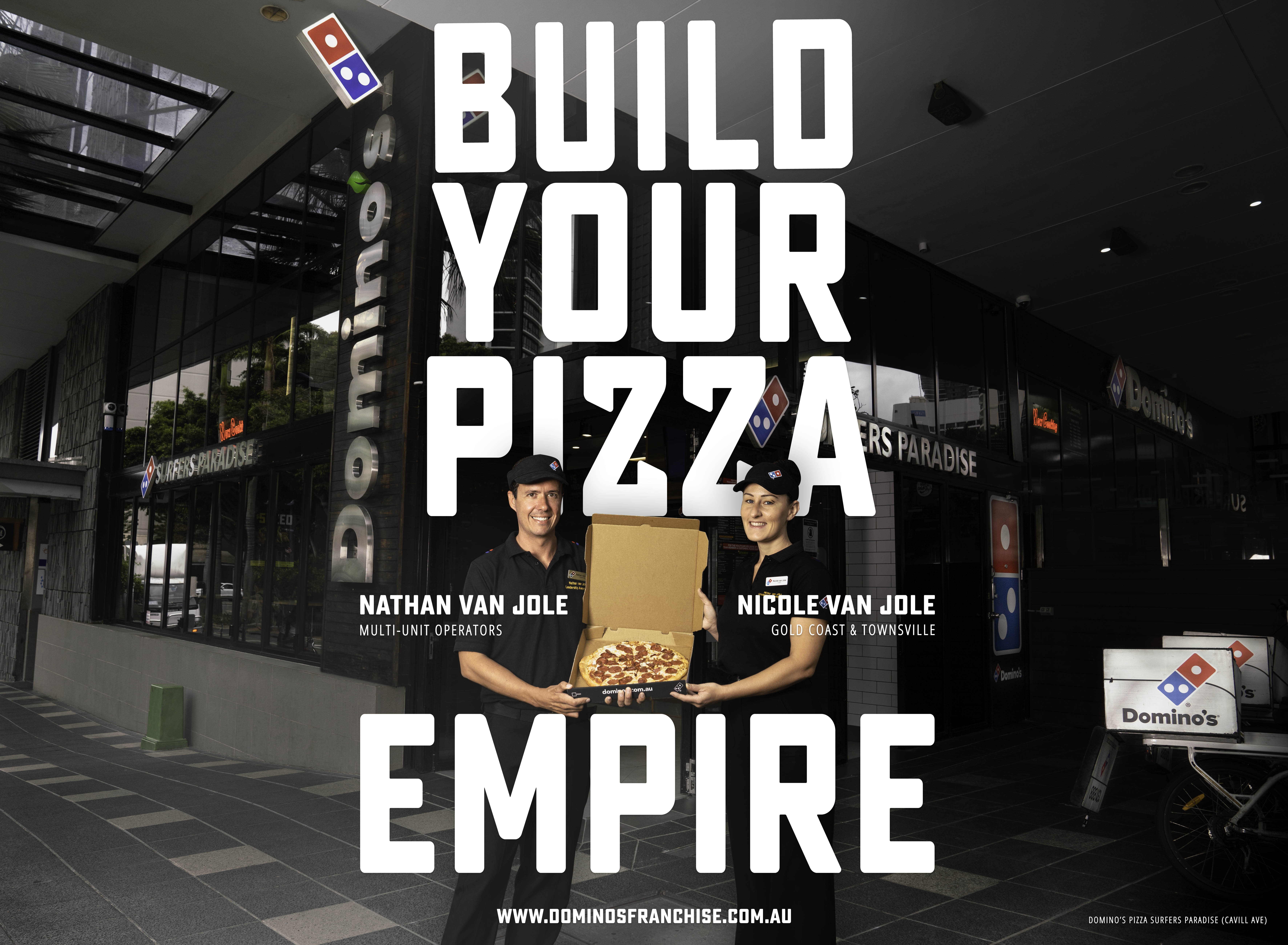 Build Your Pizza Empire with Domino's